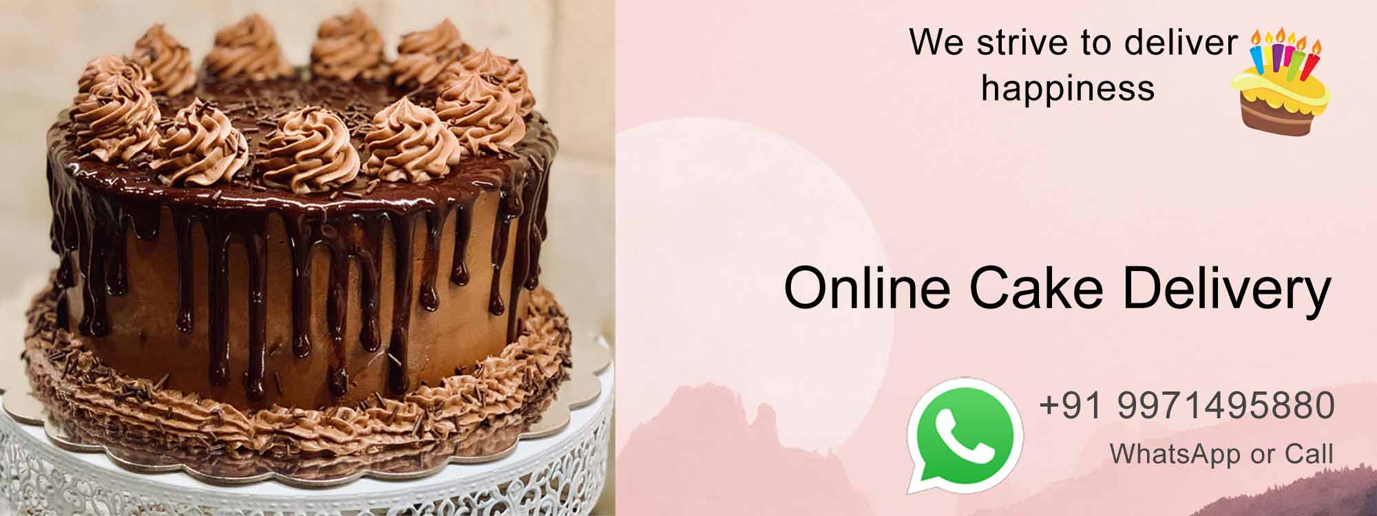 Online Cake Delivery 24x7